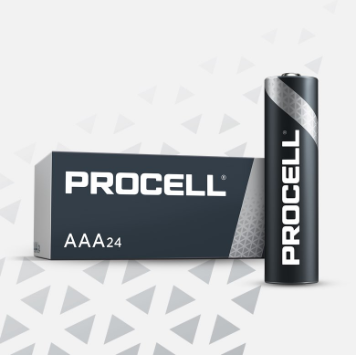 Duracell AAA Cell Procell Professional - PC2400 (24 Pack)
