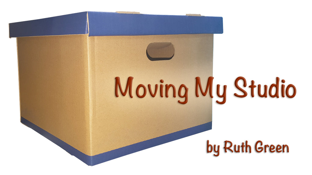 Moving My Art Studio: What I wish I had done a year ago...