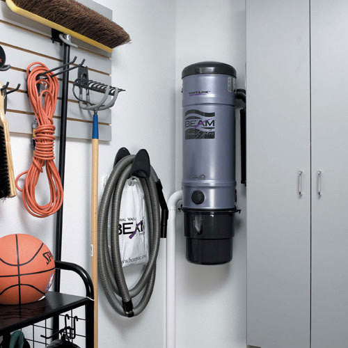 Central Vacuum Hose Storage Rack