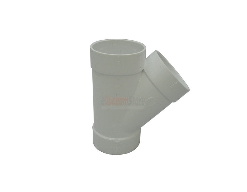 45 Degree Wye Fitting - PVC