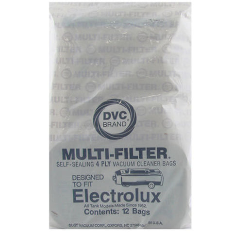Electrolux Type C Canister Vacuum Cleaner Bags 12pk