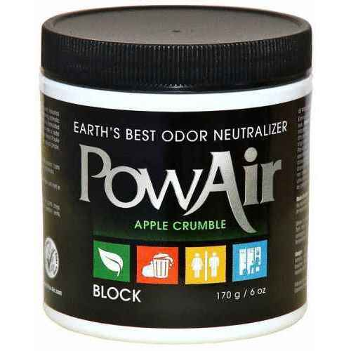POWAIR, 6oz NEUTRALIZER BLOCK - APPLE CRUMBLE