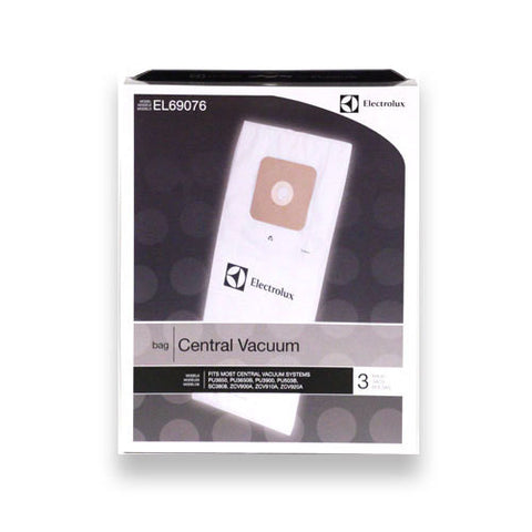 Electrolux Central Vacuum Cleaner Bags 3pk