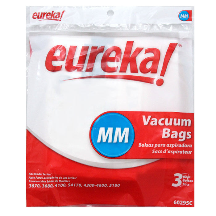Eureka Style MM Canister Vacuum Cleaner Bags 3pk