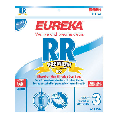 EUREKA STYLE RR UPRIGHT VACUUM CLEANER BAGS