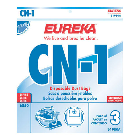 Eureka Style CN1 Canister Vacuum Cleaner Bags 3pk