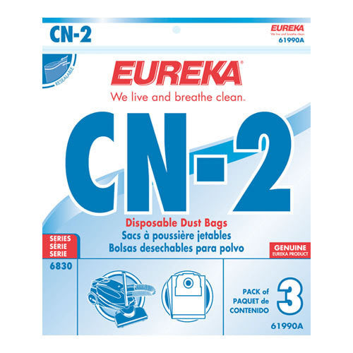 Eureka Style CN2 Canister Vacuum Cleaner Bags 3pk