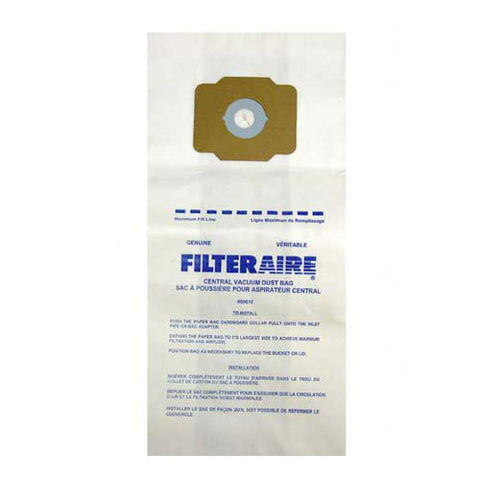 EUREKA CENTRAL VACUUM CLEANER BAGS