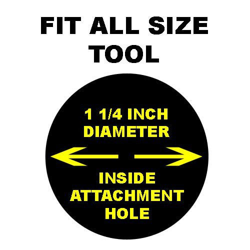 "Fit All Flexible Crevice Tool - Vacuum Cleaner Attachment 24"" Long"