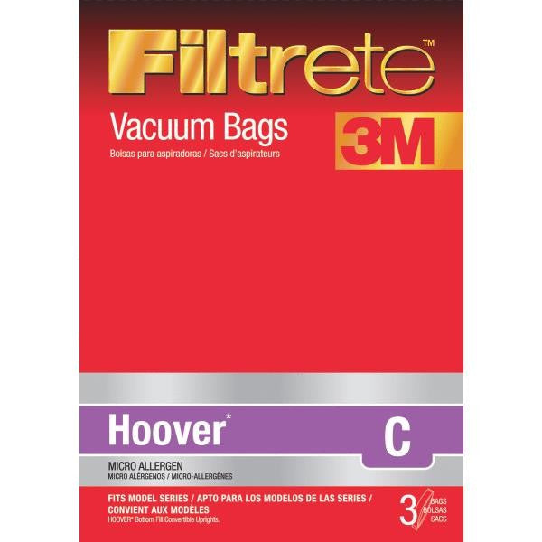 Hoover Type C Upright Vacuum Cleaner Bags 3pk