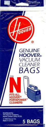 Hoover Style N Canister Vacuum Cleaner Bags 5pk