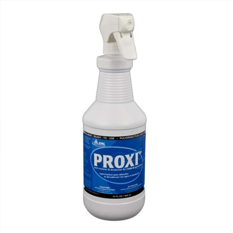 Simply spray PROXI on the stain and walk away.