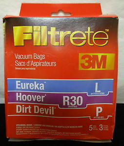 Hoover Style R30 Canister Vacuum Cleaner Bags 5pk