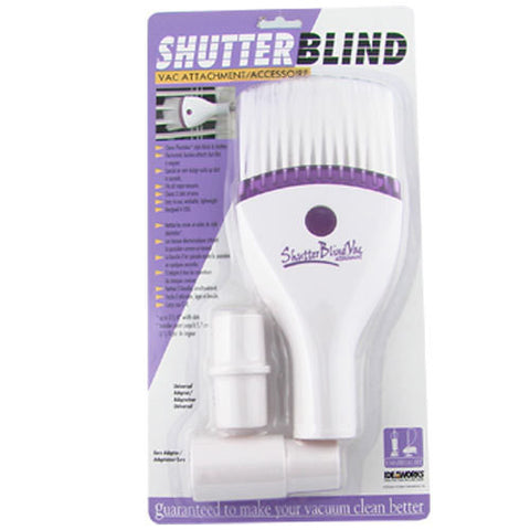 SHUTTER BLIND VACUUM ATTACHMENT