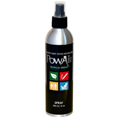 POWAIR, 8 oz / 250 ml SPRAY NEUTRALIZER - TROPICAL BREEZE