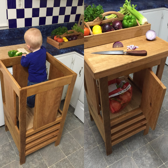 Learning Tower Kitchen Helper