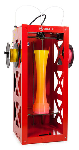 Big Builder Dual-Feed Extruder (Red)
