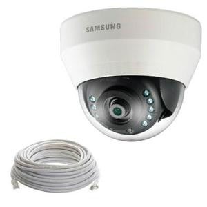 Indoor White Dome Camera