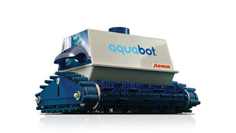 Aquabot Junior In-Ground Robotic Swimming Pool Cleaner - Robot R&R