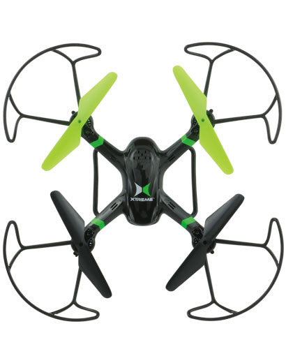 Xtreme Cables & AV - XDG6-1006-BLK - Mini xRaptor 6 Axis Drone