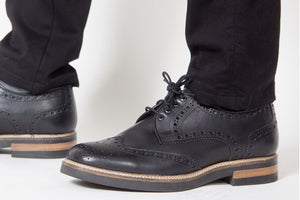 Viceversa – Zapatos Brogue Color Negro