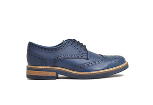Viceversa – Zapatos Brogue Color Azul