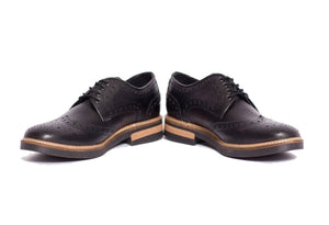 Viceversa - Zapato Brogue Negro - ViceversaOriginal