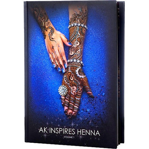 AK Inspires Henna Book Vol. 1