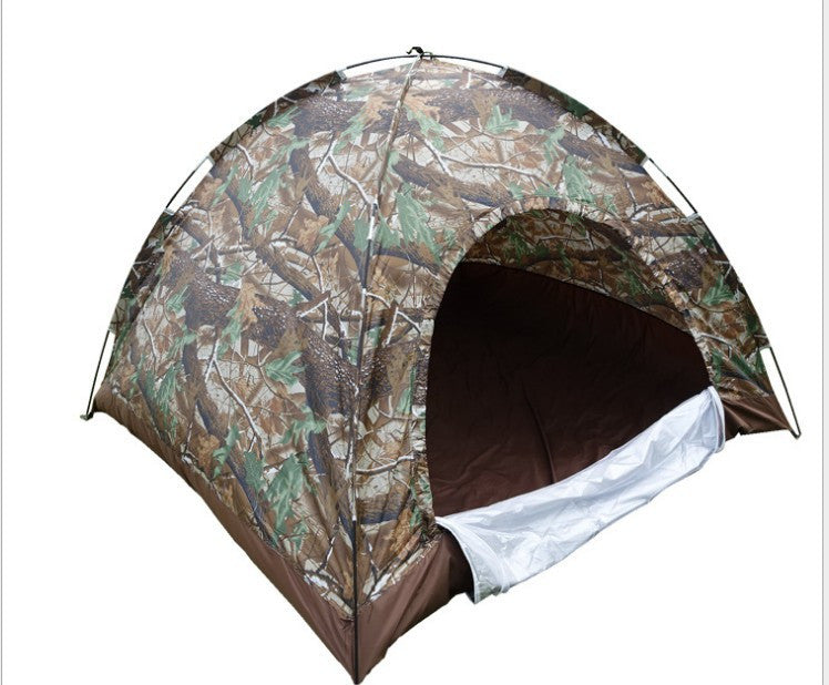 Camo Waterproof Outdoor Camping Tent 2 3 Person