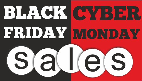Black Friday/Cyber Monday Sale!