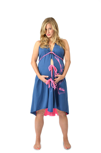 Pretty Pushers Labor & Delivery Gowns
