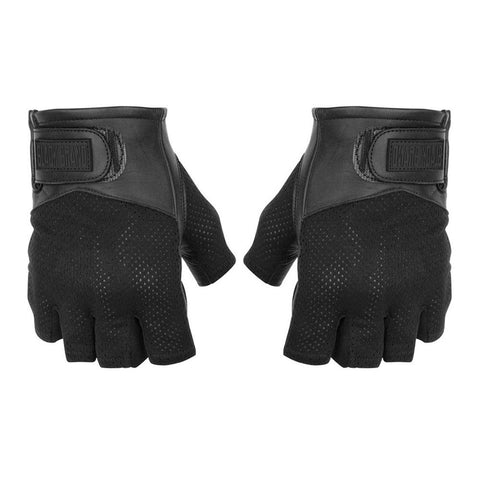 Black Brand High Flow Shorty Gloves - Black