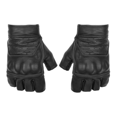 Black Brand Brawler Shorty Gloves - Black