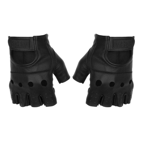 Black Brand Bare Knuckle Shorty Gloves - Black