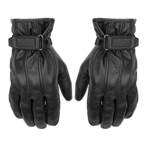 Black Brand Freeway Gloves - Black