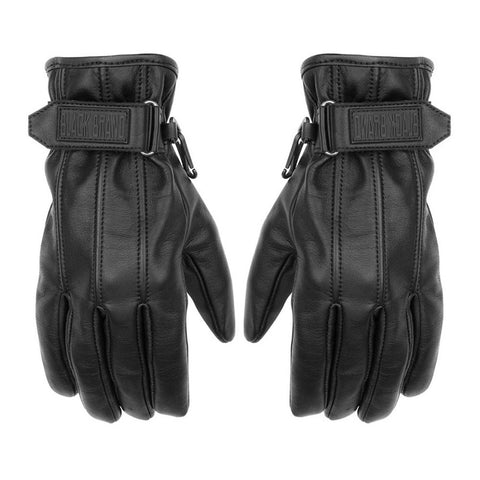 Black Brand Back Road Gloves - Black