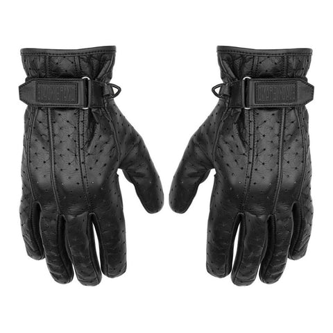 Black Brand Filter Gloves - Black