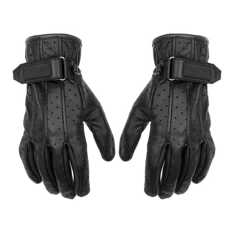 Black Brand Breathe Gloves - Black