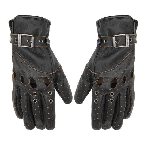 Black Brand Vintage Venom Gloves - Black