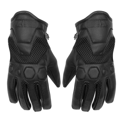 Black Brand Tech Rider Gloves - Black