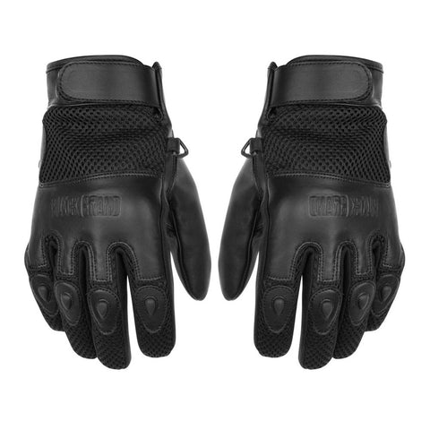 Black Brand Challenge Gloves - Black