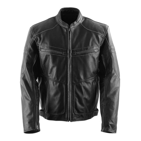 Black Brand Cutthroat Stealth Leather Jacket - Black