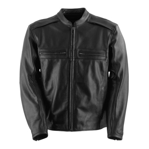 Black Brand Fahrenheit KoolTeK Leather Jacket - Black