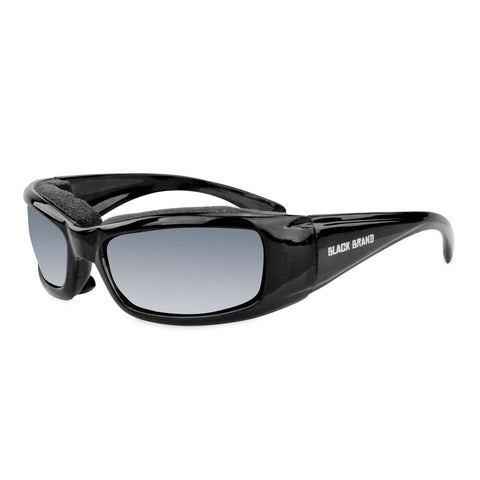 Black Brand BB2004 Lowdown Sunglasses (Interchangable Lens)
