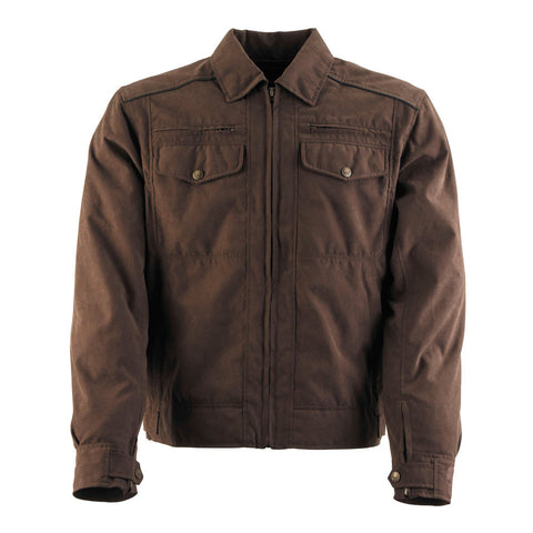 Black Brand Street Team Jacket - Brown
