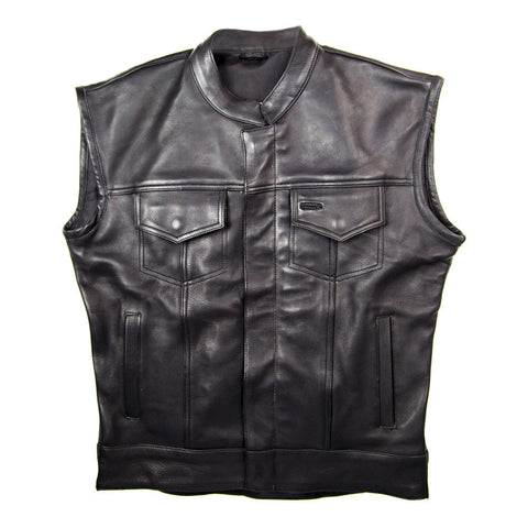 Black Oak Motorcycle Sig Vest