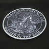 Black Oak Motorcycle Sublimated Patch