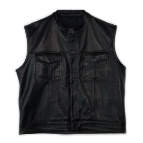 Black Oak Motorcycle Vest (XL)