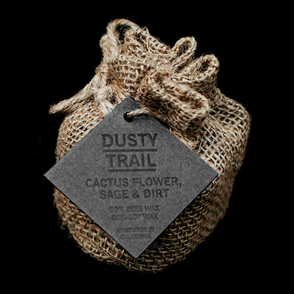 Wild Well Supply Dusty Trail Candle - Cactus Flower, Sage & Dirt