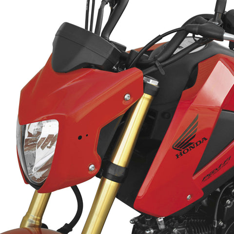 Hotbodies Racing 41401-1400 Red Front Fairing for Honda Grom MSX125